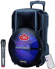 مكبر صوت بلوتوث بتصميم حقيبة جر امتعة من نيكاي، 12 انش - NTROY12401