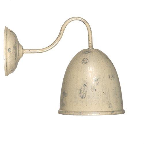 Alte Apotheke Apotheke (LINEA Verdace LV 33328/CS Alte Apotheke Alte Apotheke Metall Wandleuchte, creme/silber)