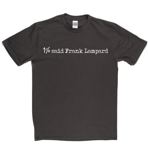 1% Said Frank Lampard Football Foory T-shirt Grau
