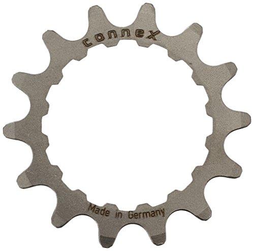 Connex E-Bike Ritzel für Bosch Antrieb 14 Zähne Kettenblätter, Silber, One Size