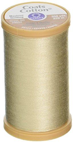 Machine Quilting Cotton Thread 350yd-Ecru