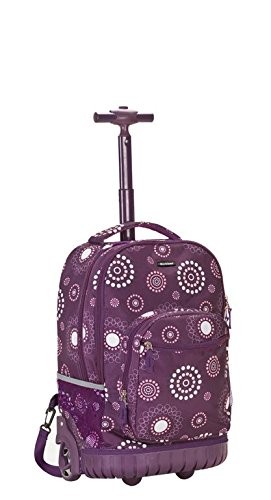 rockland-luggage-19-inch-rolling-backpack-printed-purple-pearl-medium