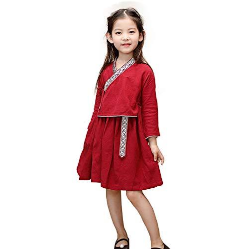 JIE. Verbessertes Kinder-Baby Tang Suit Kinder im Stil der Republik China Art Retor-Set-kulturelle ()