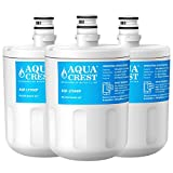 AQUACREST LT500P Fridge Water Filter, Compatible with LG LT500P, WSL-1, WF-290, 5231JA2002A, ADQ72910902, ADQ72910901, 5231JA2002B, Kenmore GEN11042FR-08, GEN11042F-08, 46-9890 (Pack of 3)
