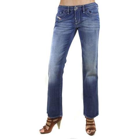 Diesel Pantalones Vaqueros De Mujer Kycut 008BK Azul #3