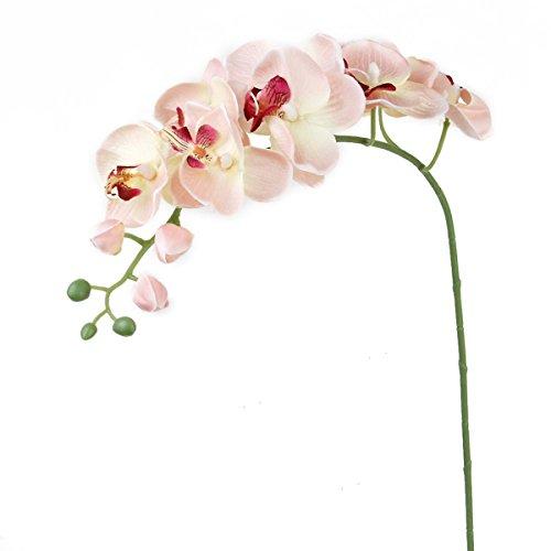 WINOMO Kunstblume Orchidee, Dekoration für Zuhause, Weiß
