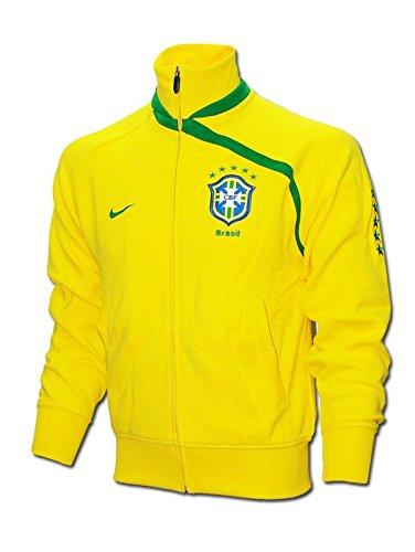 """Nike - Brasil Chaqueta Am 08/09 Hombre Color: Amarillo Talla: XL 46-48"""" Chest (112-124cm)"""