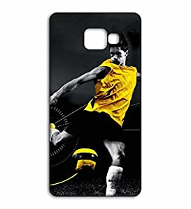 Happoz Foodball player fierce attack design Samsung Galaxy On Nxt back cover Mobile Phone Back Panel Printed Fancy Pouches Accessories Z543