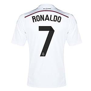 2014-15 Real Madrid Home Shirt (Ronaldo 7) - Kids