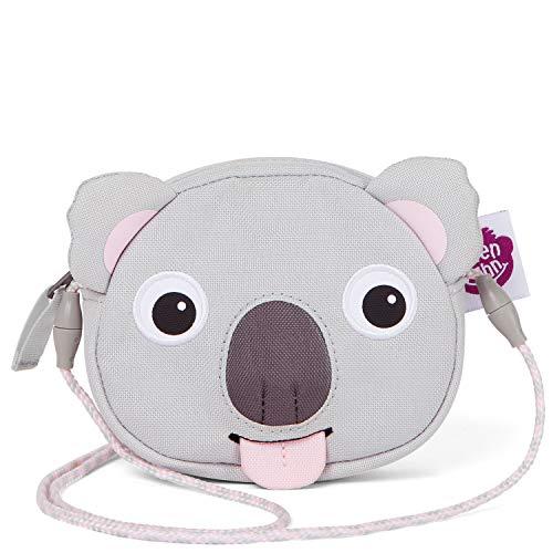 Affenzahn Portmonee für 1-5 Jährige im Kindergarten - Karla Koala - Grau