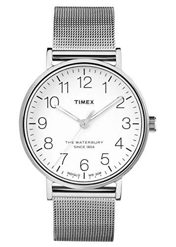 Timex Orologio Analogico Quarzo Uomo con Cinturino in Acciaio Inox TW2R25800