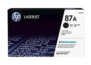 HP 87A Toner Noir Authentique (CF287A)