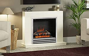 Be Modern Colby Eco Electric Fireplace White