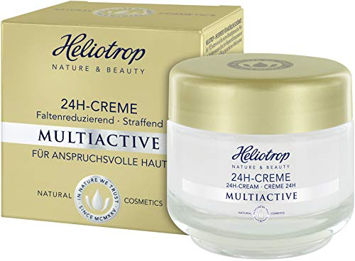 HELIOTROP Naturkosmetik MULTIACTIVE 24h-Creme, Mit wirkungsvollem Straffungseffekt, Mindert Falten,...