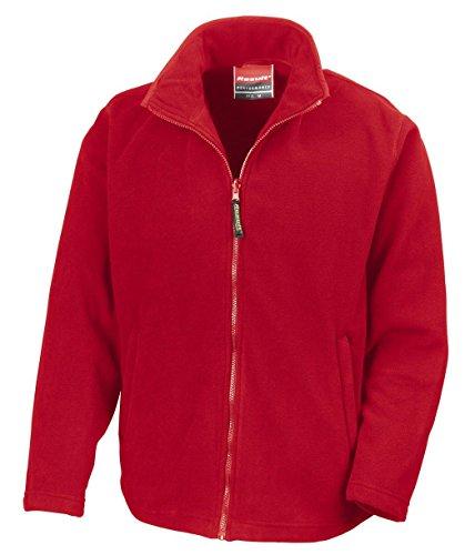 Result veste pour homme en micropolaire veste en polaire taille xS s m l xL xXL Rouge - Cadinal Red