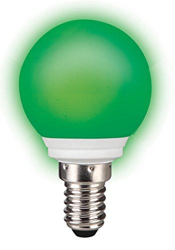 Sylvania LED-Lampe0,5 Watt 230 VoltE14 grün in TROPFENFORM für Dekozwecke für innen und außen (Glühbirne Sylvania)