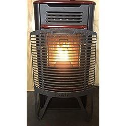 Protecteur pour le verre de poêles à granulés et à bois DUSS BIO XL, Hauteur: 86 cm Fond: 10 cm Largeur: 56 cm