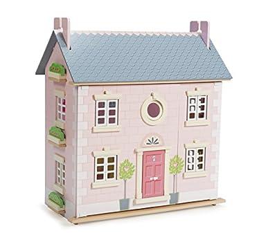 Le Toy Van - Gran casa de muñecas de madera (2 plantas, 61 x 35 x 67 cm), color rosa por Le Toy Van