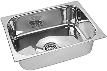 Jindal TTLLPSINK_24 Steel Kitchen Sink (Silver)