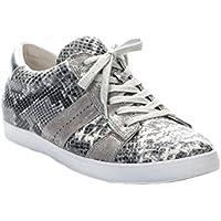 Komfort-Schuhe Frau -GABOR- Grau-Silber CobraHT gr.36 EU