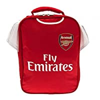 Arsenal FC Official Football Gift Kit Lunch Bag - A Great Christmas / Birthday Gift Idea For Men And Boys