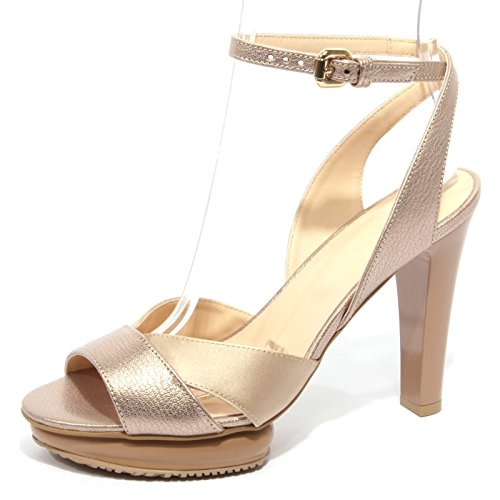 B1726 sandalo donna HOGAN fasce incrociate scarpa beige shoes women [35]