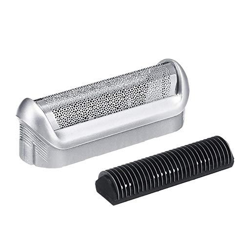 Euopat Shaver Ersatzteil, Shaver Razor Head Foil Frame, Elektrorasierer Ersatzkopf Rasierer Zubehör Scherköpfe Für P40 P50 P60 P70 P80 P90 M90s 5608 5609 -