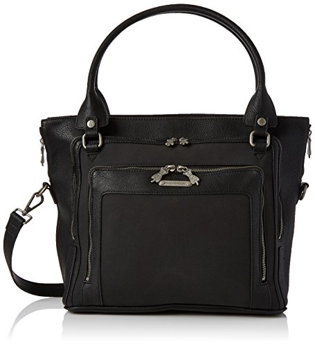Fly London Womens Jace583fly Top-Handle Bag Black (Black)