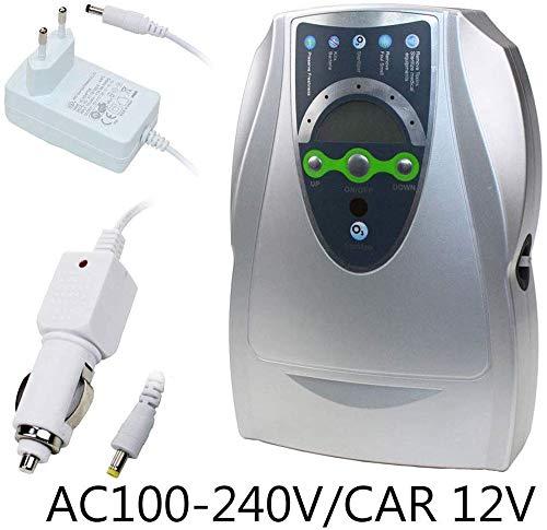 Kaixin generatore dell'ozono 500mg / h digital purificatore d'aria auto/casa sterilizzatore deodorante purificazione frutta verdura acqua alimentari ozonizzatore ionizzatore