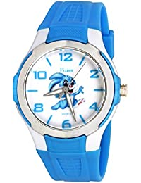 Vizion Analog Multi-Colour Dial (Bugs Bunny Crazy Run-Loonely Toones) Cartoon Character Watch for Kids-V-8826-3-1