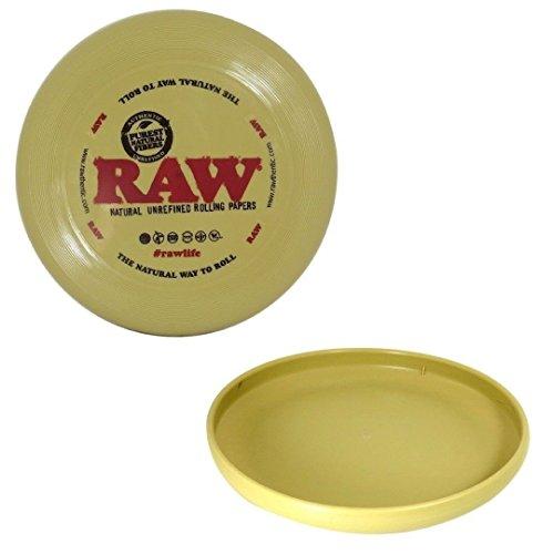 Raw Flying Disk Frisbee Kunststoff Rolling Tablett mit e-zwider boklet von Trendz