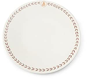 laguiole 437264 vaisselle en gr s lot de 4 assiettes plates gr s naturel diam 26 cm vanille. Black Bedroom Furniture Sets. Home Design Ideas