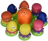 """TOMY Wasserspiel für Kinder """"Okto Plantschis"""" mehrfarbig - hochwertiges Kleinkindspielzeug - Spielzeug für die Badewanne - ab 12 Monate -"""