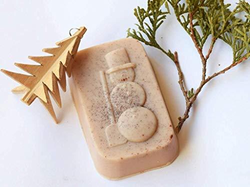 Weihnachtsseife Schneemann Schokoladen seife Zimtseife
