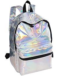 Luggage & Bags Buy Cheap Women Pvc Backpacks Laser Hologram Shoulder Back Bag School Shoulder Bag For Student Girl Small Leather Holographic Travel Bag
