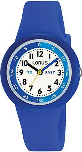 Lorus Kids Montre Mixte Analogique Quartz avec Bracelet Silicone RRX93EX9