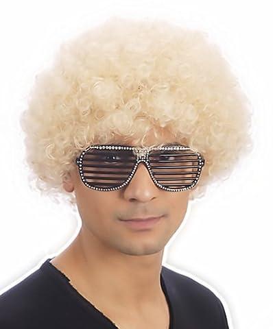 Déguisement Afro bouclés Perruques Perruque Funky Disco Clown pour homme/femme unisexe 11couleurs