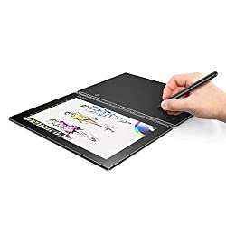 2017 Newest Lenovo Yoga Book 10.1 FHD Touch IPS 2-in-1 Convertible Tablet PC, Intel Atom x5-Z8550 1.44GHz, 4GB RAM, 64GB SSD, Bluetooth, HD Graphics, Android 6.0.1 Marshmallow OS- Gunmetal Grey
