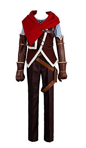 Karnestore No Game No Life Zero Riku Cosplay Kostüm Herren L (Riku Cosplay Kostüm)