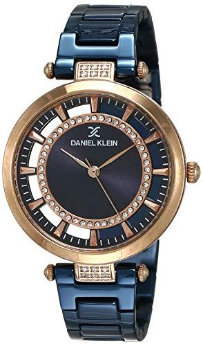 Daniel Klein Analog Blue Dial Women's Watch - DK11379-4