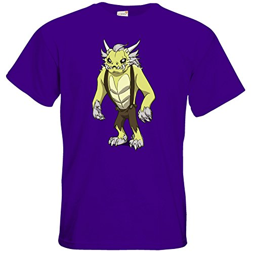 getshirts - Daedalic Official Merchandise - T-Shirt - Deponia Doomsday - Fewlock Purple