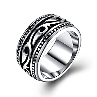 GMYR280 Steel Men Finger Rings Punk Style Men Jewelry Fashion Male Finger Ring Christmas Gift for Brother Boys