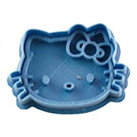 Cuticuter Children Hello Kitty Cookie Cutter, Blue, 8 x 7 x 1.5 cm