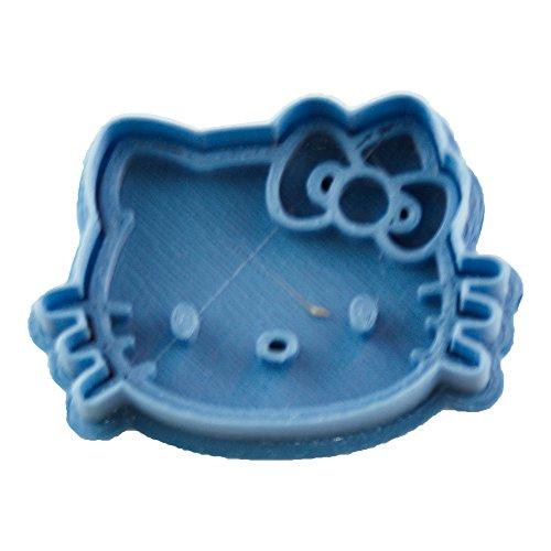 Cuticuter Niños Hello Kitty Cortador de Galletas, Azul, 8x7x1.5 cm