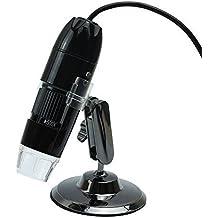 MP power @ 10x -500x LED USB Microscopio cámara digital de lupa del endoscopio Video PC Cámara para Windows XP Vista Windows 7 8 MAC OS Linux