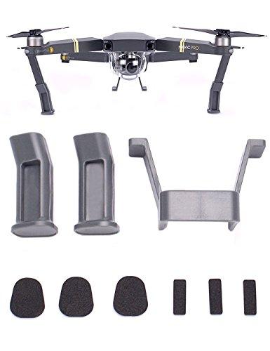 flycoo-landing-gear-accessories-leg-heighten-stabilizers-extender-kit-for-dji-mavic-pro-grey