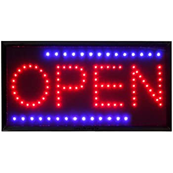 QUALITY FLASHING RESTAURANT BAR catering LED sign board new shop signs