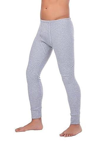 Herren Outdoor-Unterwäsche Lange Thermo-Unterhose angeraut Warme Arbeitsunterwäsche stylenmore (XXL,