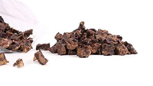 Grobys Futterkiste Lammlunge Trainingshappen fettarme Belohnung für Hunde, Verpackungseinheit:500 Gramm