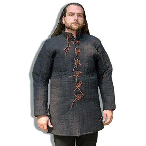 Jahrhundert und frühes 14. Jahrhundert, mittelalterlicher Gambeson, Mittelalterlicher Gepolsterter Rüstwams Reenactment Kleidung, LARP (Jahrhundert Kostüme)